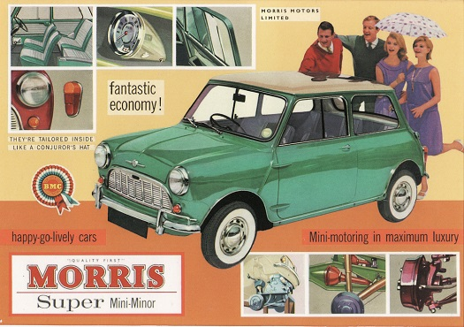 CLASSIC MINI ADVERT