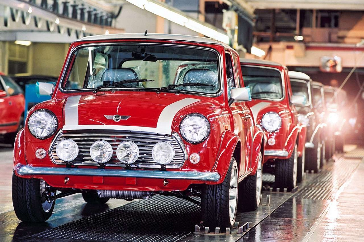 ROVER MINI PRODUCTION LINE
